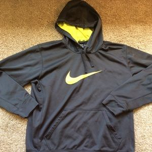 Nike Dri-Fit Hoodie with Reflective Neon